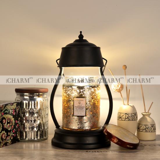Đèn đốt nến thơm phong cách cổ điển iCHARM